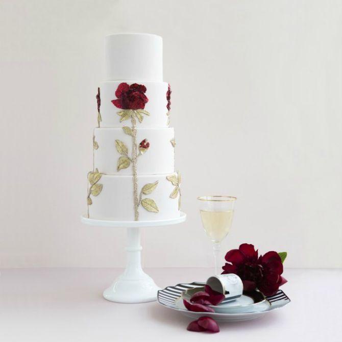 Dolce Gabbana torta Mladenačke torte inspirisane visokom modom