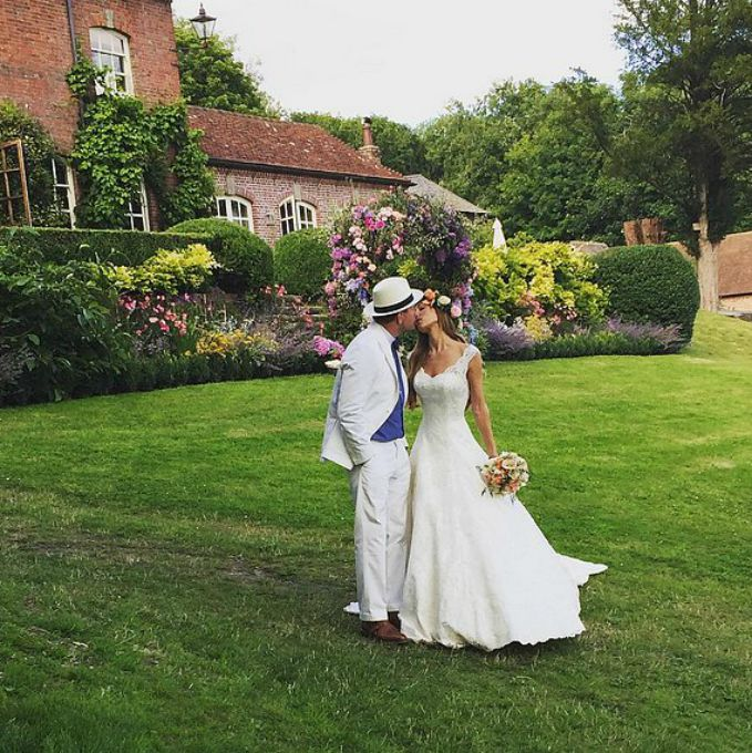 Gaj Riči i Džeki Ensli vencanje Najinteresantnija venčanja poznatih ove godine