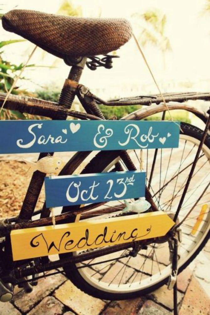 bicikl na vencanju Kako da biciklom ukrasite svoje venčanje