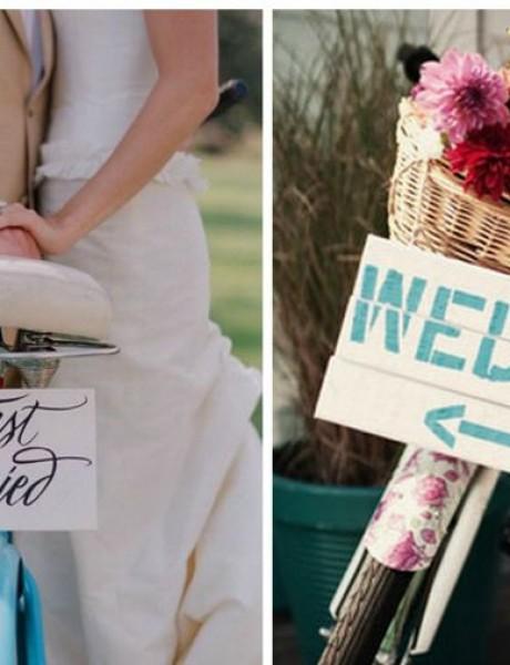 Kako da biciklom ukrasite svoje venčanje