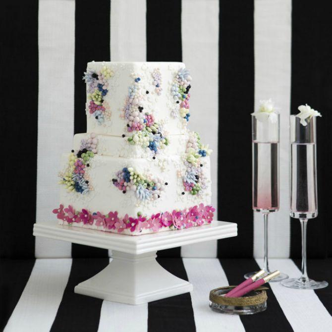 chanel mladenacka torta Mladenačke torte inspirisane visokom modom