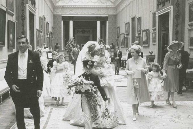 kraljevsko vencanje 3 Neobjavljene fotografije princeze Dajane sa kraljevskog venčanja