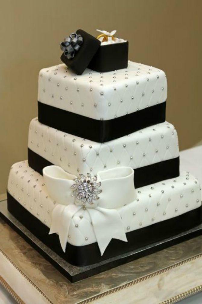 mladenačke torte ukrašene mašnom7 Neodoljive mladenačke torte ukrašene mašnom