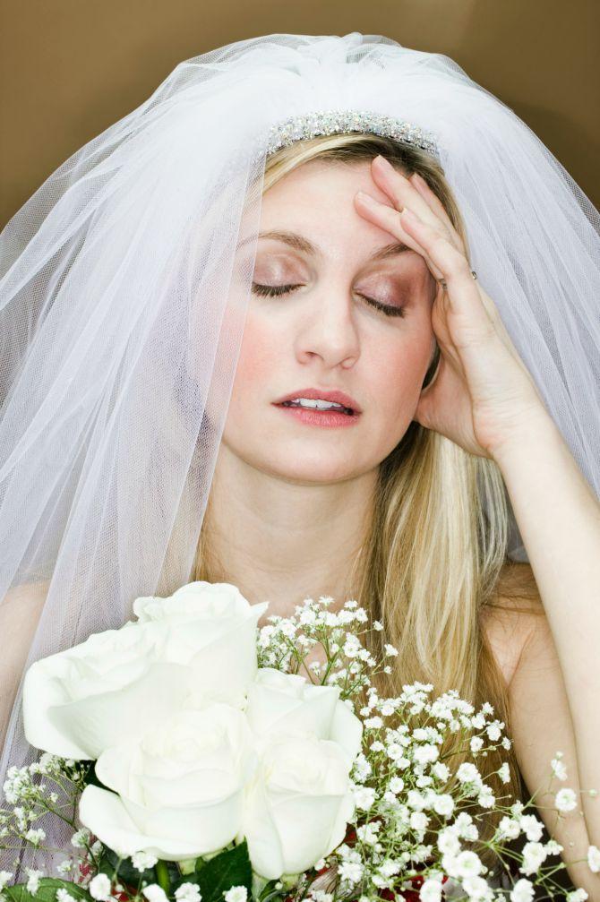 nervoza mlada Pet tipova žena kod planiranja venčanja