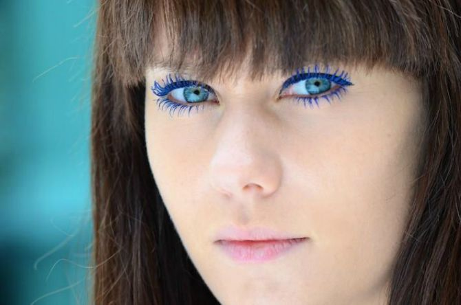 plava maskara Maskara u boji za vaše venčanje