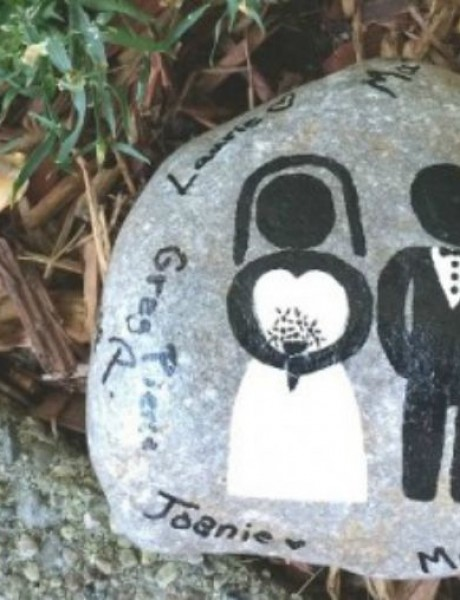 Uradi sama: Kamen kao poklon za goste