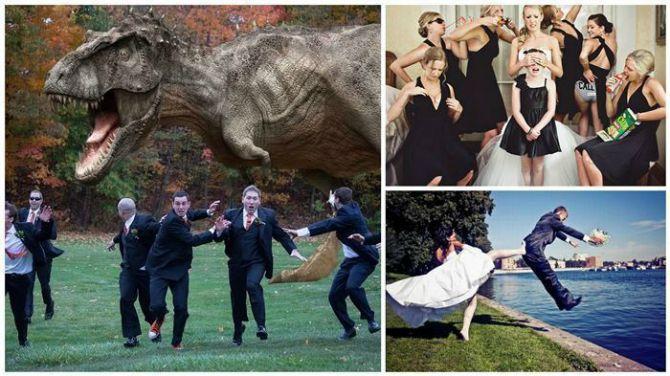smesne fotografija sa vencanja Najzanimljivije fotografije sa venčanja koje će vas nasmejati