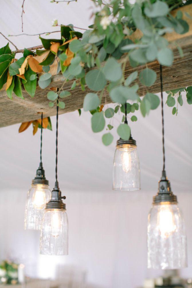 sveće i lusteri na venčanju Svećama i dekorativnim lusterima učinićete da svaki prostor zasija