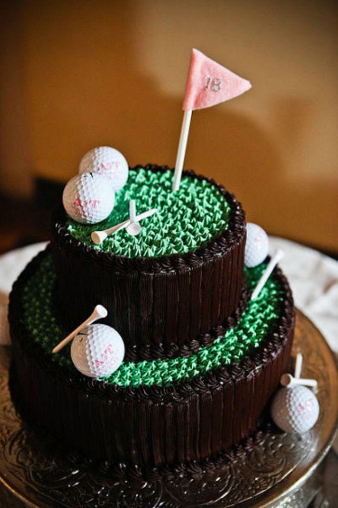 torta za mladoženju golf Mladenačke torte za mladoženju