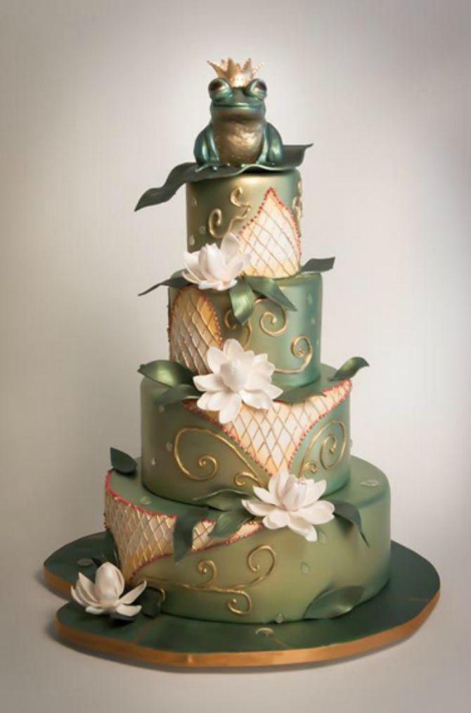 torta za mladoženju princ i zaba1 Mladenačke torte za mladoženju