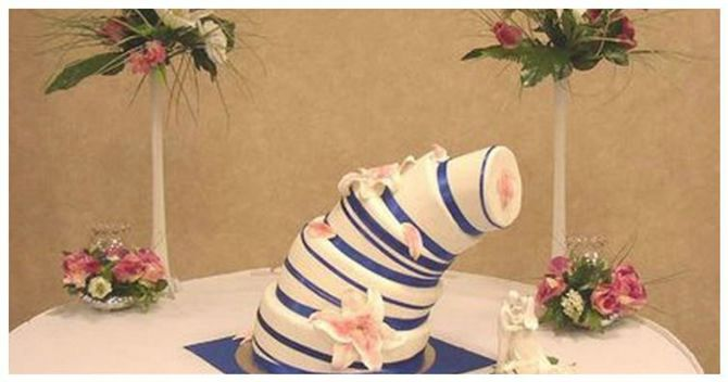 uzasne mladenacke torte Mladenačke torte koje su doslovno rasplakale mlade