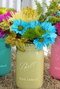 Napravite sami dekorativne vaze za venčanje