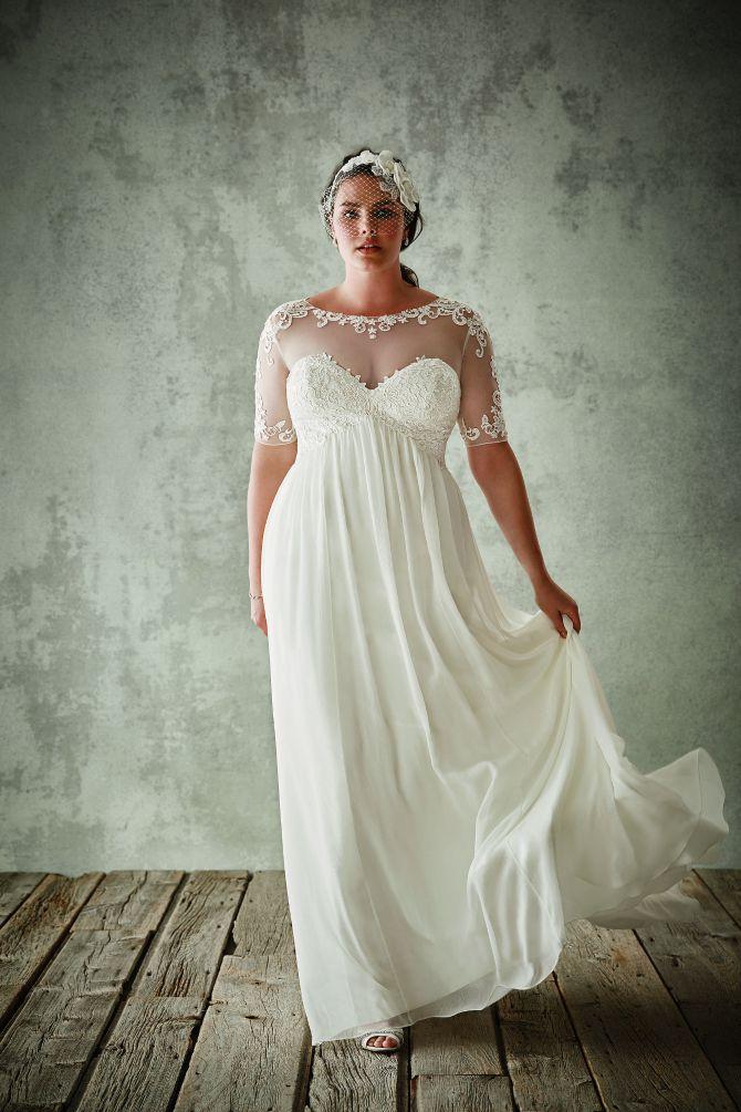 vencanica Plus size venčanice za punije dame