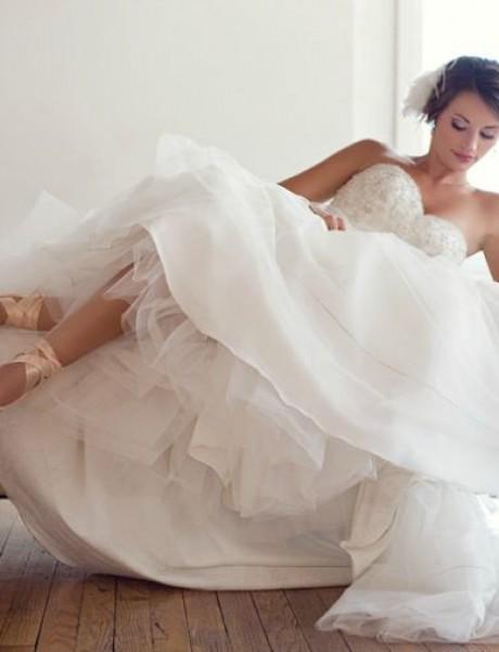 Balerine u venčanici inspirisaće vas da zaigrate piruetu na venčanju