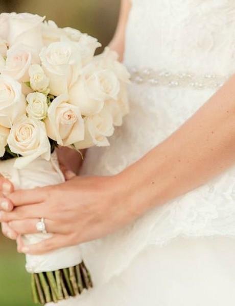 Najsavršeniji bidermajeri od belog cveća koje ste ikada videli