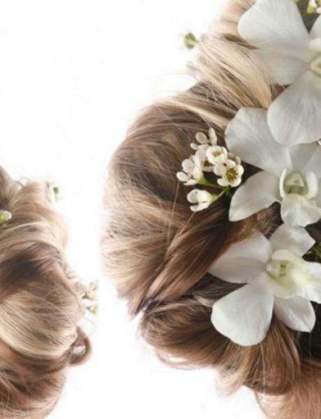 Deset glamuroznih frizura za venčanje