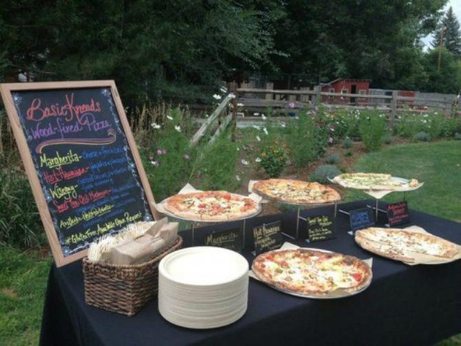 pizza na vencanju Kako da uvrstiš picu u jelovnik za svoje venčanje