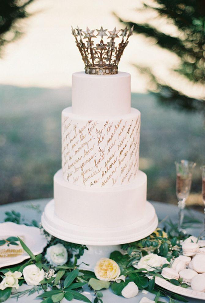 torta za vencanje2 Mladenačke torte kao iz bajke