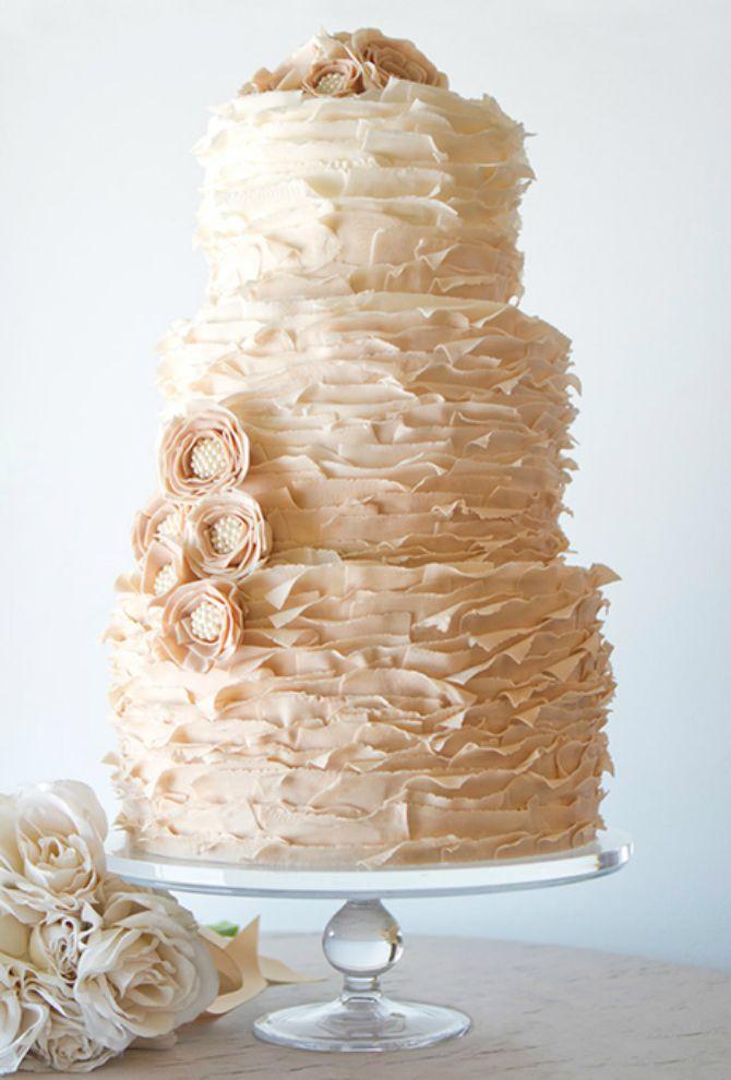 torta za vencanje31 Mladenačke torte kao iz bajke