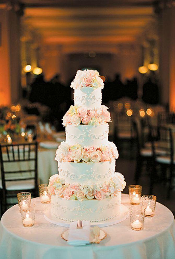 torta za vencanje4 Mladenačke torte kao iz bajke