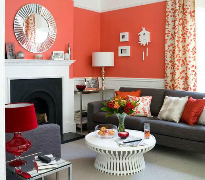 uređenje doma crveni detalji Moderne ideje za uređenje životnog prostora