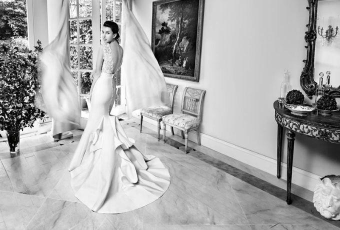 vencanice carolina herrera 1 Bajkovita prolećna kolekcija venčanica modne kuće Carolina Herrera