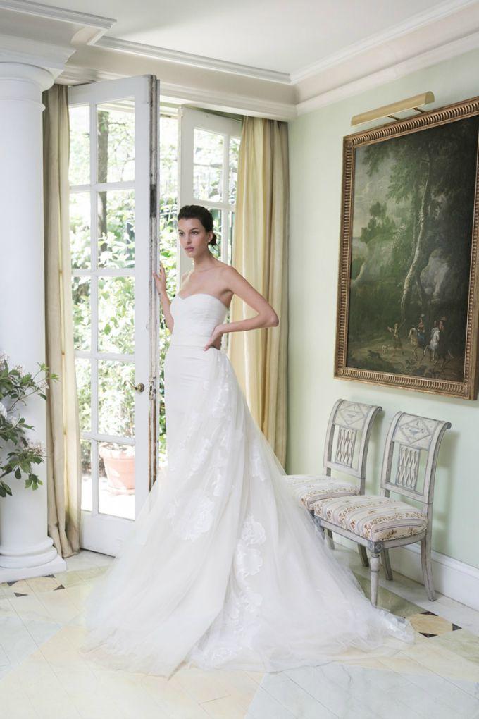 vencanice carolina herrera 2 Bajkovita prolećna kolekcija venčanica modne kuće Carolina Herrera