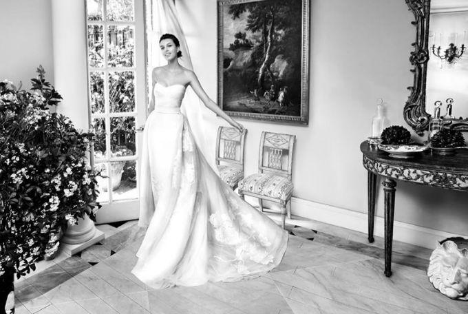 vencanice carolina herrera 3 Bajkovita prolećna kolekcija venčanica modne kuće Carolina Herrera
