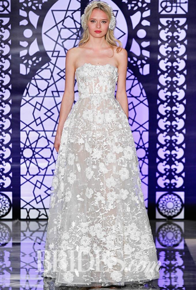 bridal fashion week 11 Bajkovite Bridal kolekcije brendova Reem Acra i Marchesa