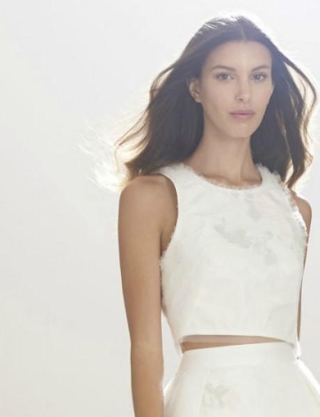 Jesenje Bridal kolekcije modnih kuća Monique Lhuillier i Carolina Herrera