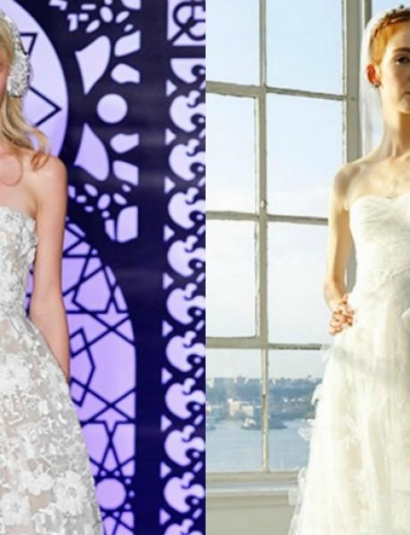Bajkovite Bridal kolekcije brendova Reem Acra i Marchesa