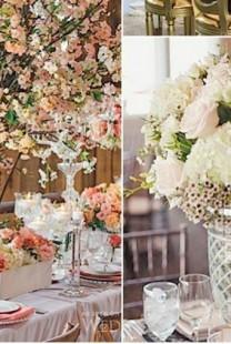 Romantična dekoracija koja odiše glamurom
