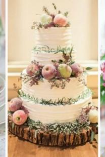 Umesto cvećem venčanje dekorišite voćem