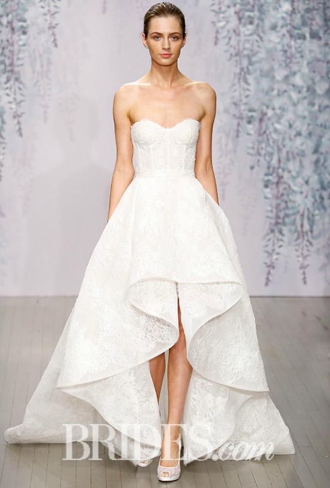 monique lhuillier bridal 1 Jesenje Bridal kolekcije modnih kuća Monique Lhuillier i Carolina Herrera