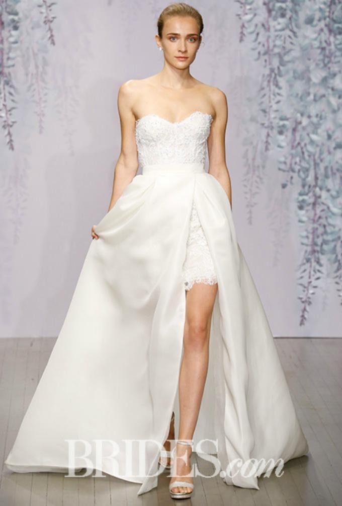 monique lhuillier bridal 2 Jesenje Bridal kolekcije modnih kuća Monique Lhuillier i Carolina Herrera