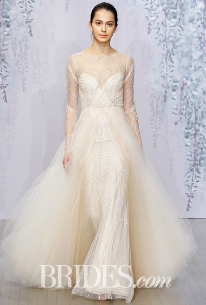 monique lhuillier bridal 3 Jesenje Bridal kolekcije modnih kuća Monique Lhuillier i Carolina Herrera