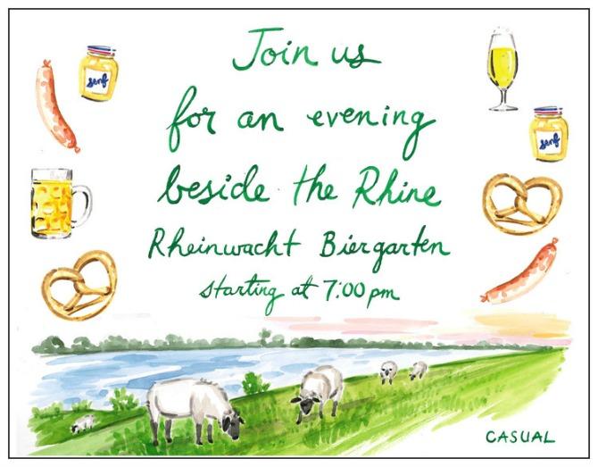 pozivnice u vidu ilustracija2 Pozivnice za venčanje u vidu ilustracija