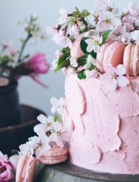 Svadbene torte predivnih detalja