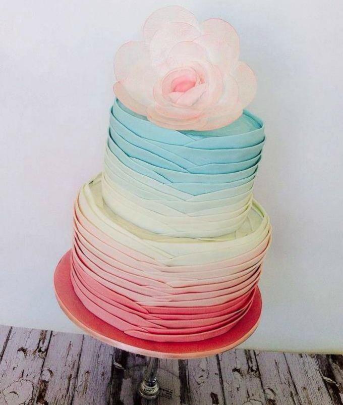 svadbene torte 6 Svadbene torte predivnih detalja