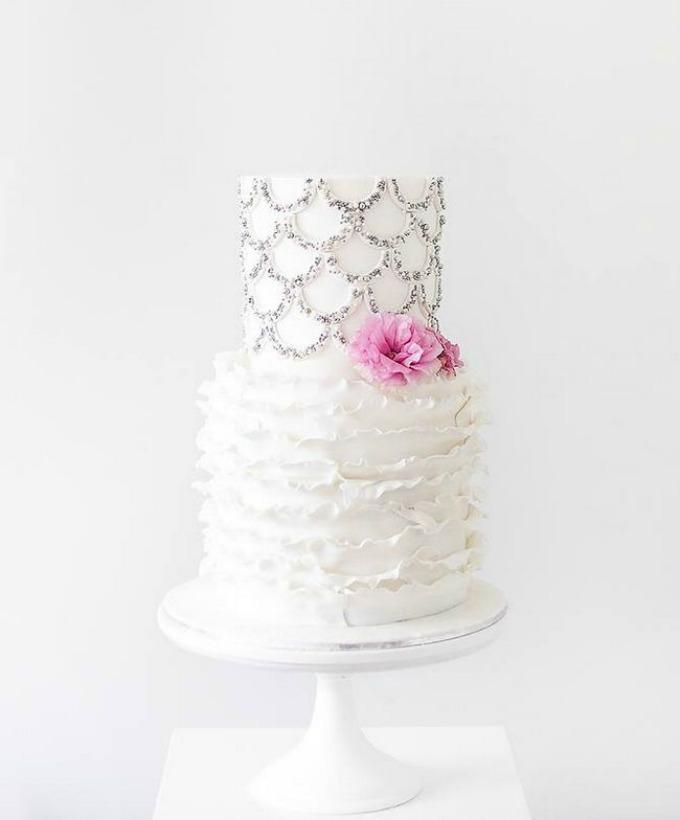svadbene torte 8 Svadbene torte predivnih detalja