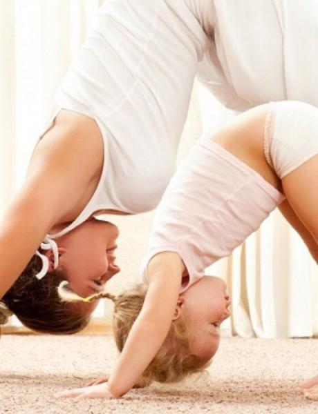 VIDEO: Vežbajte sa decom