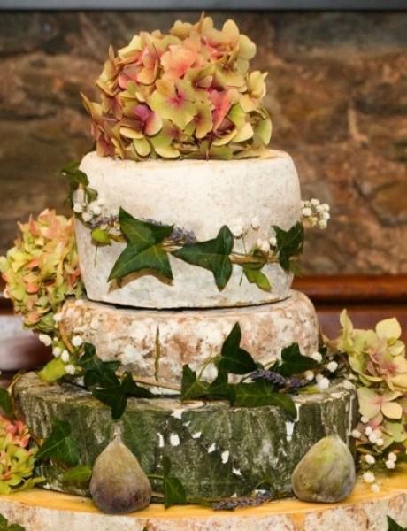 Torte od sira na venčanju zaseniće svaki dezert