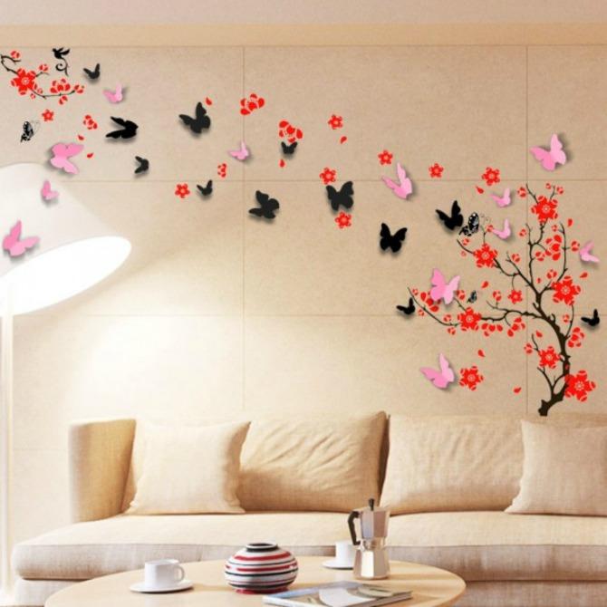 dekorativne nalepnice2 Ulepšajte vaš dom zidnim dekorativnim nalepnicama