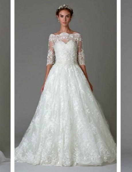Jesenja Bridal kolekcija modne kuće Marchesa