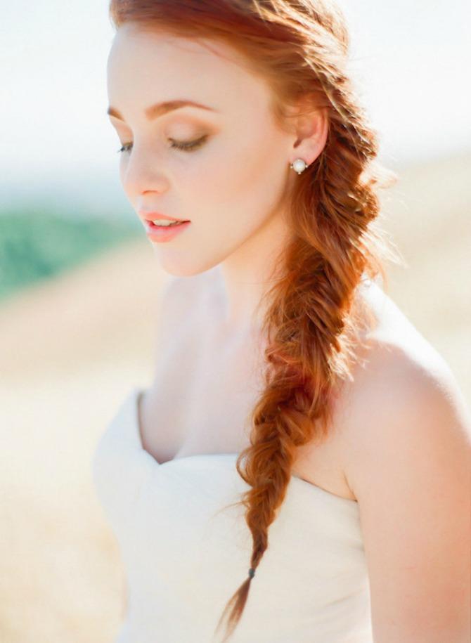 pletenica vencanje1 Ženstvene pletenice za mladu