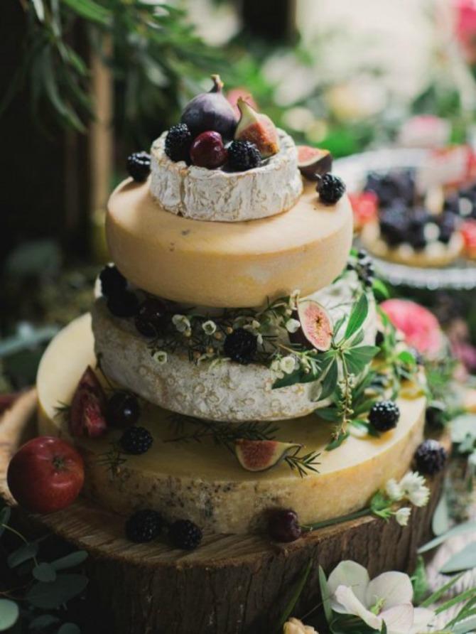 torte od sira Torte od sira na venčanju zaseniće svaki dezert