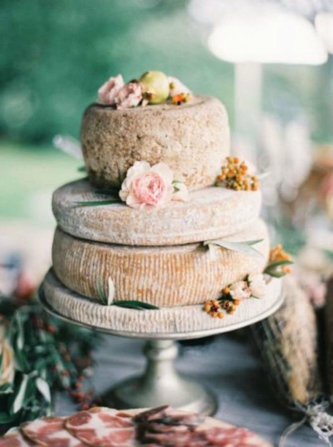 torte od sira1 Torte od sira na venčanju zaseniće svaki dezert