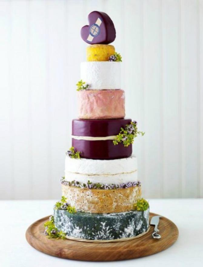 torte od sira11 Torte od sira na venčanju zaseniće svaki dezert