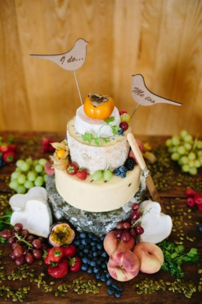 torte od sira2 Torte od sira na venčanju zaseniće svaki dezert