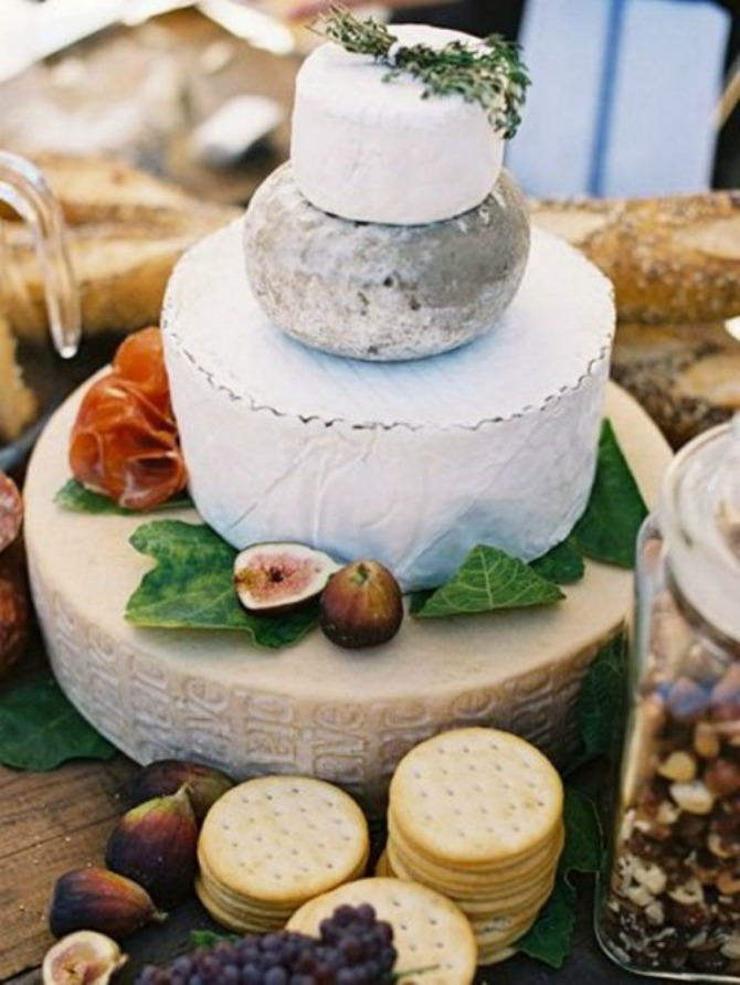 torte od sira3 Torte od sira na venčanju zaseniće svaki dezert